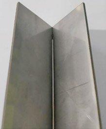 Beautiful welding seam