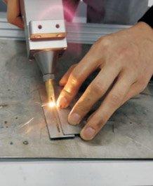 Overlay welding